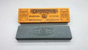 "Carborundum Medium Sharpening Stone 2 x 8"" Long In New Condition"