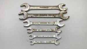 Sidchrome Open Ended Spanners Good Sizes