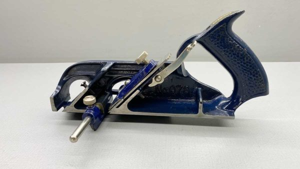 Record No 78 Rabbet Plane With Adjustable Fence