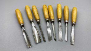 Henry Taylor 8 Piece Carving Chisel Set