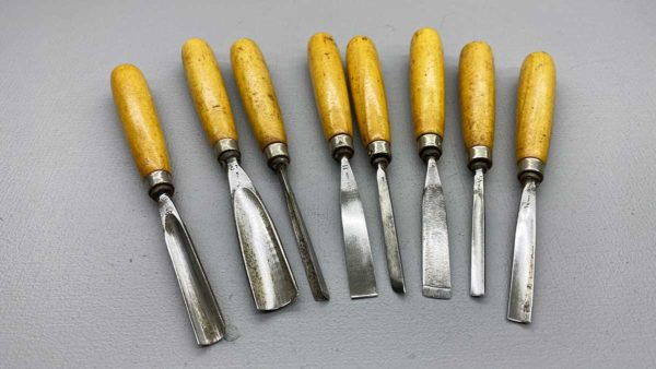 Henry Taylor 8 Piece Carving Chisel Set