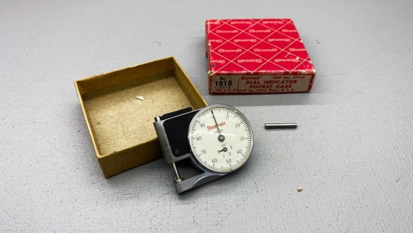 Starrett USA No 1010 Dial Indicator Gage