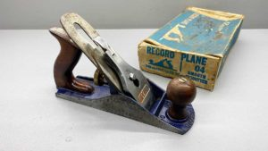 """Record No 4 Bench Plane With A 2"""" Cutter"""